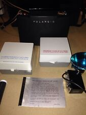 Polaroid 250 Land Camera W/ Zeiss View Finder, Flash And Close Up/Portrait Kits