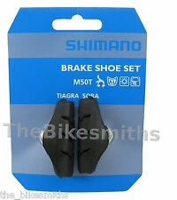Shimano BR-1055 M50T Road Bike Brake Pads Shoes 105 Ultegra DuraAce Compatible