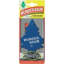 3pcs Wunderbaum Magic tree car air freshener NEW CAR