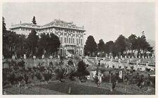 D1745 Savona - Albisola Marina - Villa Durazzo - Stampa antica - 1934 old print