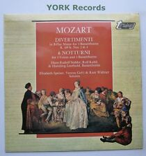 TV 34417S - MOZART - 2 Divertimenti / 6 Notturni For 3 Voices - Ex Con LP Record