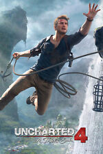 """UNCHARTED 4: A THIEF'S END - GAMING POSTER / PRINT (JUMP) (SIZE: 24"""" x 36"""")"""