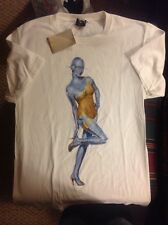 Hajime Sorayama & stussy collaboration t shirt S new with tags 100% authentic