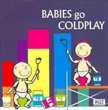 Babies Go Coldplay by Various Artists (CD, 2006, RGS Music)
