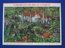 United States (#3899) 2005 Nature of America - N.E. Deciduous Forest MNH sheet