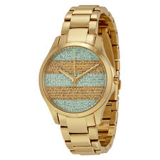 Armani Exchange Smart Gold-tone Stainless Steel Ladies Watch AX5243