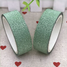 3m Glitter Washi Sticky Paper Masking Adhesive Tape Label Craft Decorative #04