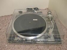 PIONEER PL-400 TURNTABLE IN A VERY RARE LUCITE/ACRYLIC/CLEAR BASE SX  SPEC