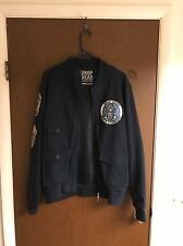 Drop Dead Astronaut Bomber Jacket sz Large Supreme 100% Authentic