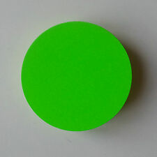 50 Kreise 8 cm Ø neon Preisschilder Schild Schaufenster Display deko Stanzteil