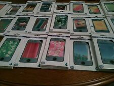 120x Full Body FRONTE RETRO Pelle Decalcomania Adesivo Wrap Custodia Cover per iPhone 4