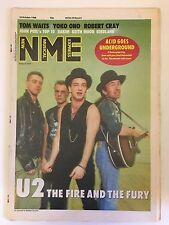 NEW MUSICAL EXPRESS NME MAGAZINE  22 OCTOBER 1988 U2 THE FIRE AND THE FURY   LS