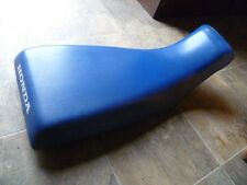 A06H HONDA TRX 250 R TRX250R 250R OEM BLUE USED SEAT COVER SADDLE LINER TOP VYNA