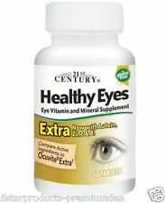 21st Century Health Care Healthy Eyes Extra Lutein, Zinc & Vitamin B 50 Tablets