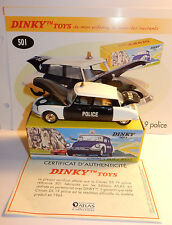 DINKY TOYS ATLAS CITROEN DS 19 POLICE REF 501 1/43 IN BOX