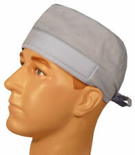 Light Blue & Sweatband Scrub Cap Medical Surgical Doctor Dental Veternarian
