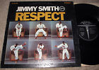 "Jimmy Smith Respect 12"" Vinyl LP 1967 Verve V6-8705 gatefold Organ Soul Original"