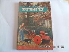 SYSTEME D N°111 03/1955 MOTOCULTEUR DE 4CV CANNAGE DES CHAISES MOTOCYCLETTE  J62