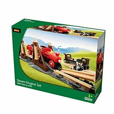 Brio BRI-33030 Steam Train Railway Set