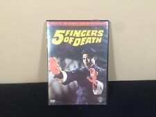 Five Fingers of Death DVD #38
