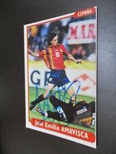 55477 Jose Emilio Amavisca Spanien original signiertes Autogrammfoto