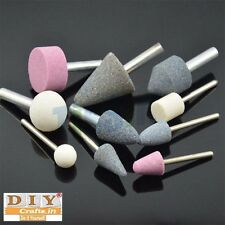 DIY Crafts® WORK  MOUNTED STONE GRINDING POLISHING CLEANING BUFF TOOLS SET 10PCh