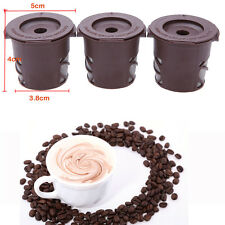 K-Cup Reusable Coffee Filters for Keurig! 3Pack! Clever Coffee Capsules! BH