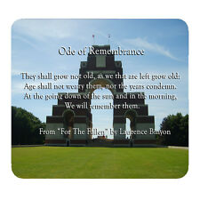 Ode of Remembrance (For the Fallen) - Mouse Mat