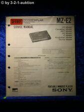 Sony Service Manual MZ E2 (#2197)