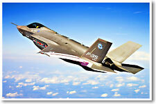 F-35 Lightning Joint Strike Force Fighter Jet - Military Aviation POSTER