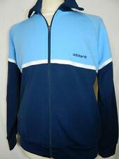 """Vtg 1970s/80s Oldschool Adidas Tracksuit Top Casuals retro tracky size 180/5'11"""""""