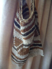 Vintage Aboriginal Traditional old hand woven string Dilly bag