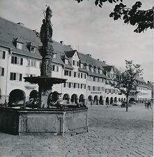 FREUDENSTADT c. 1960 - Place Fontaine Autos Allemagne DIV 6745