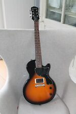 EPIPHONE * LES PAUL JUNIOR * EBONY * NEU
