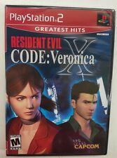 Resident Evil CODE: Veronica X [Greatest Hits] PS2 Factory Sealed FREE SHIPPING