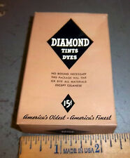 Vintage Diamond Dyes Beige, Wells & Richardson Company, Burlington VT