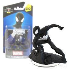New Disney Infinity 3.0 Black Suit Spider-Man Character Figure Marvel Official