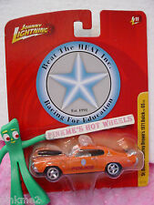 Johnny Lightning Sr. Officer Charley Brown '71 BUICK GS 1971✿Orange;Police✿JL11