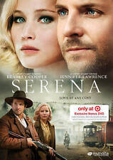 Serena (DVD, 2015, 2-Disc Set, Target Exclusive) Jennifer Lawrence
