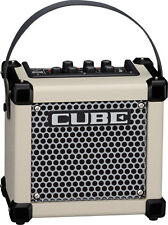 Roland M-CUBE-GX WHITE Compact/ Portable Guitar Amp