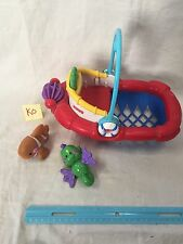 Vintage Fisher Price Tub Time Tugboat Beach Pool Bath Child Toy 2007 GUC