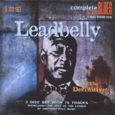 LEADBELLY - THE DEFINITIVE 3 CD NEU