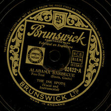 THE INK SPOTS  Alabama Barbecue / With plenty of money and you  78rpm      X2159