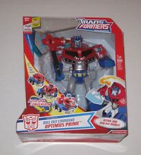 Transformers Animated Roll Out Command Optimus Prime MISB New Sealed Ultra-Axe