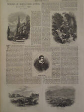 ROBERT SOUTHEY POET MEMORIES OF DISTINGUISHED AUTHORS HARPER'S WEEKLY 1871