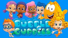 Bubble Guppies # 10 - 8 x 10 - T Shirt Iron On Transfer