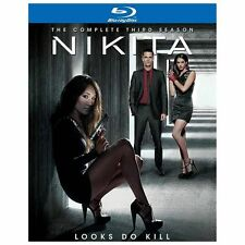 Nikita Complete season 3 Blu-Ray 4 disc set in case w/ slip cover & insert