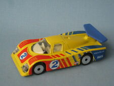 Matchbox Sauber Group C Racer Yellow Body Laser Wheels Toy Race Car Boxed