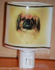 """Pekinese"" Ceramic Dog Nite Light"
