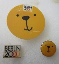 2000 BERLIN Olympics 3 bid pin badge